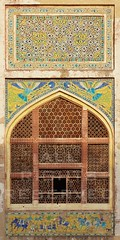 (z) Tags: city pakistan architecture work tile hall fort muslim mirrors elephants lahore oldcity glazed walled lahorefort mughal kingspavilion sheeshmahal