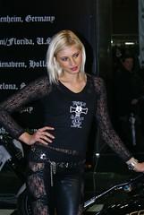 Blonde (themax2) Tags: girls bike expo verona motor 2009 promotora motorbikeexpo