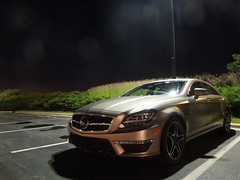 Mercedes-Benz CLS 63 AMG C218 (Hertj94 Photography) Tags: public june bronze sedan mall mercedes benz illinois nikon south arboretum 63 exotic german spotted v8 matte amg cls valet barrington rwd 2013 c218 s8200