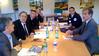 Réunion de travail avec le Préfet de Police Jean-Paul BONNETAIN