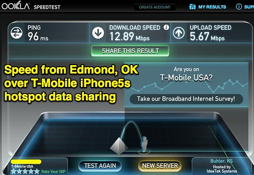 Speed from Edmond, OK over T-Mobile iPho by Wesley Fryer, on Flickr