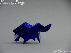 Fantasy Pony by Barth Dunkan (Magic Fingaz) Tags: horse caballo cheval pony cavalo poney origamihorse