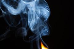 Smoke (jonascf) Tags: macro canon fire smoke flash burn match 700d