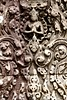 Khmehr Carving of Hand-in Clasping Deva at Bayon Temple (Patumraat) Tags: thailand temple ancient asia cambodia ruin empire siem thom civilization angkor wat invasion asean ayudhaya reab khmehr