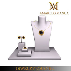 Jewelry Chanel - DC 75 (Luana Barzane / CEO [AMARELO MANGA]) Tags: circle mesh designer manga collection amarelo casual 75