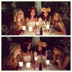 with the ladies (Hudgenessa) Tags: flowers girls white night four la candle desk timber longhair clothes blondehair sinner brunnette beautifl ashleytisdale whitegirls vanessahudgens