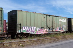 QGRY 80019 A Ottawa, Ontario 08212007 ©Ian A. McCord (ocrr4204) Tags: ontario canada train wagon kodak ottawa railcar traincar pointandshoot mccord ocr railroadcar walkley z740 freightcar railwaycar ocrr ottawacentralrailway walkleyyard 1000000railcars ianmccord ianamccord