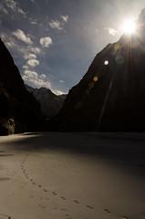 Long walk.. (pradeep_kumbhashi) Tags: blue india nature beauty river landscape serenity zanskar himalaya leh ladakh calmness kash wallpa nikond7000