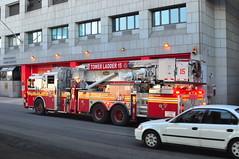 FDNY Tower Ladder 15 (Triborough) Tags: nyc ny newyork tower manhattan firetruck financialdistrict fireengine ladder fdny ladder15 lowermanhattan seagrave newyorkcounty towerladder newyorkcityfiredepartment towerladder15