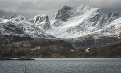 revolt | lofoten islands, norway (elmofoto) Tags: travel houses snow mountains norway landscape islands travels nikon flickr day view fav50 cloudy fav20 explore vista fjord hack scandinavia fav30 lofoten archipelago 500v arcticcircle d800 dwellings 70200mm massif nordland peeks 1000v fav10 fav100 fav200 fav300 10000v explored fav40 newlayout 5000v fav60 2500v fav90 fav80 fav70 25000v nikond800 fav400 pwwinter flickrlicensing