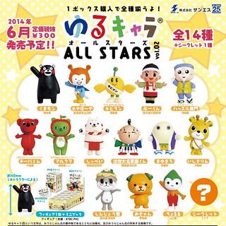 日本吉祥物大集合第2彈!