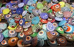 Sunday Colours - Bright and Shiny Good Luck Charms (Pushapoze (MASA)) Tags: türkiye istanbul amulet grandbazaar goodluckcharms semipreciousstones