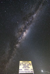 Milky Way and Zodiacal Light, Danger Ahead (TheAstroShake) Tags: light night stars space astrophotography astronomy milkyway dentures zodiacal