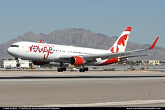 Air Canada Rouge B763 CFMWV ($and$man) Tags: las