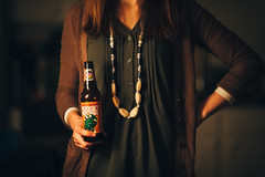 (232/365) Beer Fashion (Chexjc) Tags: beer fashion canon project eos prime magic f2 365 nugget 135mm 6d 135l nector troegs f2l vsco