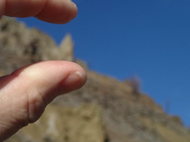 Those Peaks Are Tiny