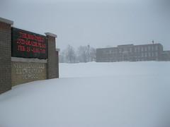 Nicholasville, Ky. (2-16-2015) (kaintuckeean) Tags: school snow mainstreet kentucky blizzard elementary jessamine nicholasville jessaminecounty