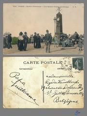 PARIS - Buttes Chaumont - Les Quatre Points Cardinaux (bDom [+ 3 Mio views - + 40K images/photos]) Tags: paris 1900 oldpostcard cartepostale bdom