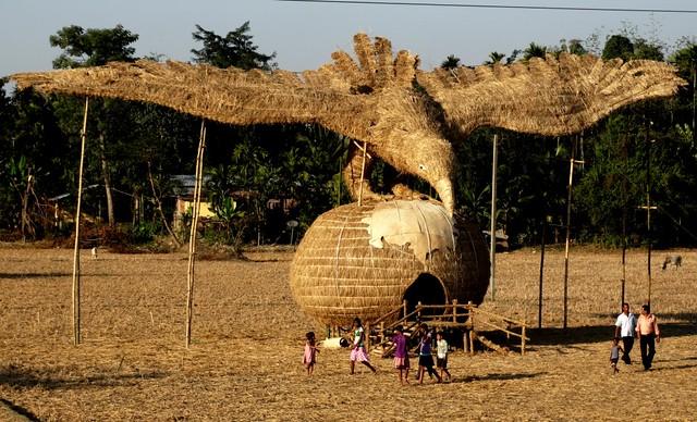 Bhelaghar; an inseparable part of Bhogali Bihu festival of Assam, India