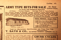 Army Huts For Sale (zombikombi1959) Tags: army shed hut worldwarone ww1 greatwar 1418 woodenhut