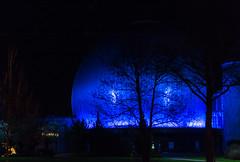 Berlin - Planetario Carl Zeiss (Merlindino) Tags: sony nationalgeographic notturno berlino 2015 nex6 sel18105g