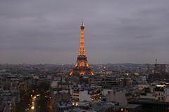 Eiffel Tower (PhotoJOJO!) Tags: city travel paris france tower eiffeltower eiffel romantic joeltravel