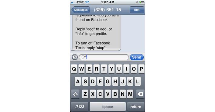 របៀបបិទការផ្ញើសារដំណឹងពី Facebook មកកាន់លេខទូរស័ព្ទរបស់យើង! (កុំអោយធុញពេក)