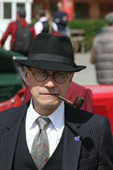 (delta23lfb) Tags: hat pipe ww2 hg reenactor homefront brooklands homeguard 40srevived