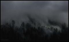 Enchanted (WibbleFishBanana) Tags: cloud mountain storm rain austria valley zillertal zellamziller
