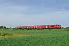 P2290416 (Lumixfan68) Tags: eisenbahn db bahn deutsche regio 218 züge loks baureihe dieselloks doppelstockzüge