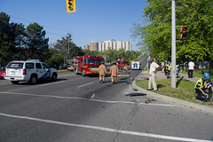 Accident Scene (scott3eh) Tags: accident finch toronto 2016 may rollover