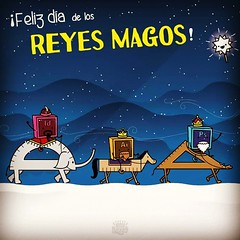 FELIZ DA DE REYES MAGOS! #tresreyesmagos... (frankespadareyes) Tags: illustration photoshop caballo star design rules adobe illustrator wacom vector camello reyes elefante magos magicwand indesign adobeillustrator reglas vectores ilustraci tresreyesmagos uploaded:by=flickstagram instagram:photo=8921604212372253181272150124
