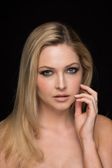 Ashley - 03 (trmanco) Tags: portrait people woman sexy girl beautiful beauty fashion female portraits studio model nikon blonde modelling nikond7100