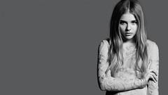 Chloe Moretz Black White Desktop HD Wallpaper (StylishHDwallpapers) Tags: desktop blackandwhite chloe grace actress moretz
