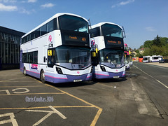 StreetWise (ccoultas) Tags: new west bus mercedes benz yorkshire group first depot wright bramley 35217 35219 streetdeck