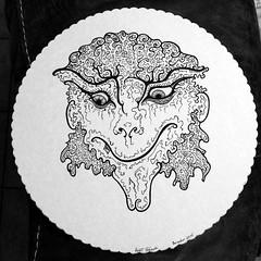Goat (darksaga66) Tags: art drawing goat penandink inkart