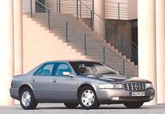 1999 Cadillac Seville SLS (Hugo90-) Tags: ads advertising photo 1999 seville cadillac kit press promotional sls sts genf