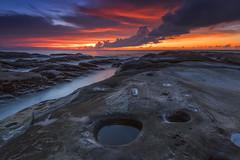 Metafora II (zakies) Tags: simpangmenggayau tipsofborneo kudatsabah borneo sabahsunset sabahborneo sabahlanscape sunset stone rock formation sky ocean dramatic guidetosabah zakiesphotography malaysia kotakinabalu pool