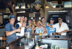 Hutley's August 1988. Town of Islip Men's Softball Champions! (BruceLorenz) Tags: street new york ny st by bar ed island one town championship team pub long main 1988 tavern mens playoffs softball eighties now 1980s murray roofing maxwells 501 islip lessings hutleys hutleys501 stislipny
