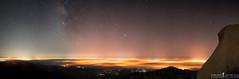 The light show (ihikesandiego) Tags: sky night way san mt diego milky woodson