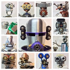 "Part-2 of 2. Its just about 1/2 way through the year of 2016 so here the robot faces so far! • <a style=""font-size:0.8em;"" href=""http://www.flickr.com/photos/132106327@N03/27037947974/"" target=""_blank"">View on Flickr</a>"