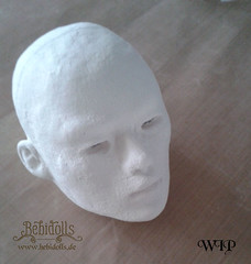 New BJD (bebidolls1) Tags: work doll wip bjd sculpting modellieren