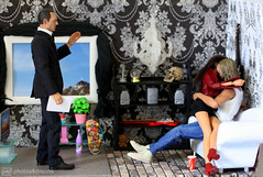 the husband's early return (photos4dreams) Tags: thehusbandsearlyreturnp4d © 2016 photos4dreams all reserved threeisacrowdp4d dioramadramap4d theswisscottagep4d philcoulson clarkgregg agentsofshield shield p4d photos4dreamz toy man handsome spielzeug puppe 16 scale marvel universe cool agent elegant omgitsannehathawayp4d omg catwoman devilwearsprada doll celebrity actionfigure barbie diorama livingroom wohnzimmer chrisfashionphotoshootwinterp4d chrisportraitp4d chriswontheracep4d chrishemsworth thor rush race action figure actor photo plastic schauspieler thedarkkingdom thorofjotunheim tabletopphotography scenes