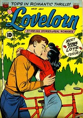 Lovelorn 27 (Michael Vance1) Tags: woman man art love comics artist marriage romance lovers dating comicbooks relationships cartoonist anthology silverage