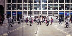 Alternate (Sean Batten) Tags: street city england urban reflection london 35mm buildings nikon df unitedkingdom streetphotography lunchtime gb cinematic onenewchange