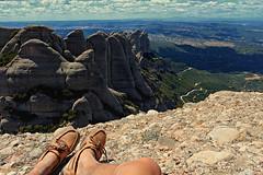 Keep On Exploring (Brad_y11) Tags: mountain landscape spain rocks view hiking climbing montserrat