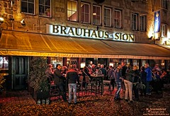 The Brauhaus Sion, Cologne Germany (PhotosToArtByMike) Tags: beer bar germany pub europe cologne brewery cheers oldtown koln pubcrawl brauhaus klsch prosit rhineriver colognegermany beerhall brauhaussion biersalon oldquarterofcologne klschbrewpub sionbrauhaus