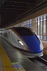 W7 at Omiya (louisemarston) Tags: japan train railwaystation trainstation shinkansen omiya