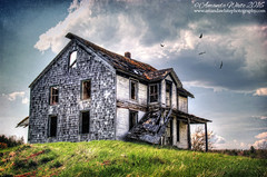 Still Standing (sminky_pinky100 (In and Out)) Tags: canada home landscape outdoors wooden novascotia empty scenic abandonedhouse ruraldecay decaying fallingdown omot cans2s