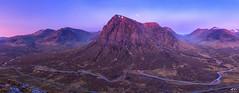 Highland Dawn (J McSporran) Tags: panorama landscape scotland highlands glencoe westhighlands buachailleetivemor ef1635mm canon6d